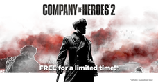 限時免費領取《英雄連隊2》company of heroes 2/steam限時領取下載