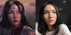 【覺醒】動畫伊瑞莉雅與某哈薩克模特兒疑似撞臉