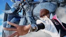 《JUMP FORCE》付費 DLC 角色「海馬瀨人」的戰鬥場面,青眼白龍、歐貝利斯克的巨神兵登場!!