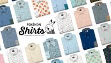 Pokémon X Original Stitch推出定製襯衫:151 款寶可夢原創圖樣