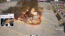 炸車畫面真壯觀