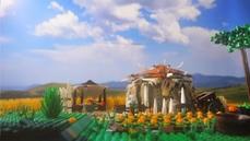 新卡登場!《爐石戰記》以樂高創作揭露《奧丹姆守護者》全新卡牌:裂劈斧