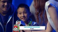 台灣之光!10歲男孩吳比拿下《Pokemon》寶可夢世界大賽冠軍