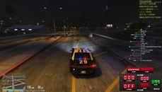 老爸一個飛車甩警察