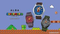 任天堂合作精工Seiko推出《超級瑪利歐》手錶