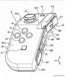 任天堂疑似申請改良款Joy-Con專利 手柄上部可彎曲