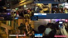香港反送中發現演員在跟警察握手