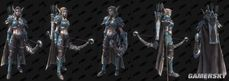 《魔獸爭霸3重製版》高等精靈,血精靈模型和遊俠將軍希爾瓦娜斯