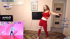 俄國妹子跳舞