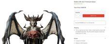 《暗黑破壞神4》24.5英吋莉莉絲模型開啟預售
