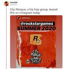 《GTA6》明年夏季發佈???