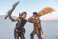電影《魔物獵人》公開了一張幕後劇照