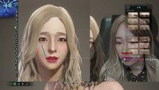 韓國女主播用魔物獵人完美捏出自己的臉!!