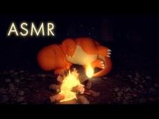令人放鬆的 小火龍跟咀嚼咀嚼哈力栗  ASMR 動畫