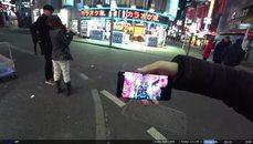 這實況主在澀谷幫陌生女孩解套