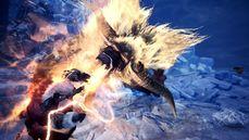 PC Steam 版的《魔物獵人世界:Iceborne》「激昂金獅子」與「猛爆碎龍」登場