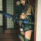 中國女玩家兔子糖糖公主Rinrin Cosplay 鬥陣特攻半藏