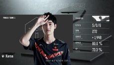TES vs FPX  Karsa李星神預測踢中猴子