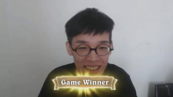《爐石戰記》世界大賽第四戰:台灣 2:3 惜敗新加坡  羅杰手牌不好 照樣打回來