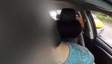 UBER司機睡到一半接到客人 正準備開始上班沒想到.....