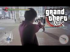 [真人版]人中之龍 結合GTA 日本澀谷