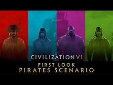 《文明帝國 6》即將更新「海賊大時代場景」介紹影片