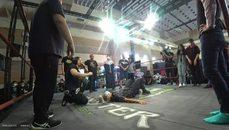 圖奇王雷參加Wirhouse摔角訓練,又趕場參加街舞比賽,每天超長直播時數,超人般的體力