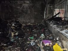 新北市某戶家中發生大火一家三人跳樓 媽媽為了保護孩子摔斷腳