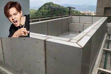 羅X祥 在公寓頂樓想打造泳池?? 遭鄰居檢舉證實?