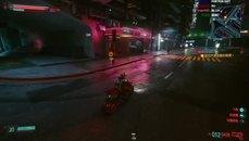 Cyberpunk 2077  被鐵門卡死 還敢亂停車下車阿 ...