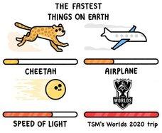 TSM:世界上最快的是什麼?