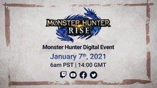 《魔物獵人:崛起》將在1月7日公佈重大消息和遊戲新情報