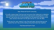 受疫情影響《Minecraft Earth》手遊game over