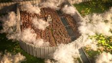 網友在Minecraft製作1:1進擊的巨人的希干希納區