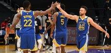 NBA勇士隊克服19分逆轉聯盟龍頭湖人隊