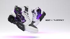 有風扇潮到出水!!內建RTX 3080的球鞋