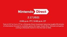 任天堂宣布2/18將舉辦睽違一年半的見面會(線上直播) 並宣布2021上半年將發售的新作