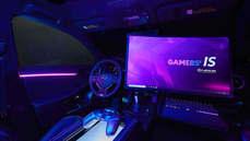 LEXUS宣布全新車款,電競汽車「Gamers' IS」副駕駛座玩高品質遊戲