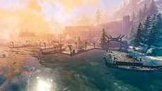 《Valheim》被國外玩家玩成建築遊戲 重現《魔獸世界》暴風城港口