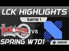 KT vs DRX DRX輸12k後期逆天反擊 2021 LCK春季賽Highlights