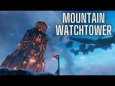 《Valheim》國外玩家分享自己蓋的超大型守望塔