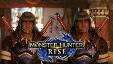 《魔物獵人 崛起》龍人雙胞台模組被魔改成村長????