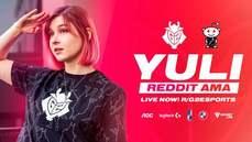 《英雄聯盟》LEC可愛女裁判 Yuli 以創作者身分加入G2