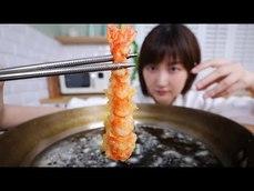 如何把便宜的蝦子炸成高級餐廳等級的蝦(*´▽`*)