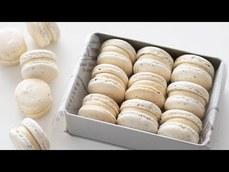 很美的白色的奶茶馬卡龍的製作方法