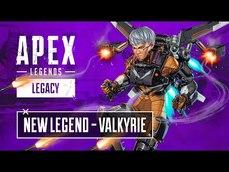 《Apex 英雄:流傳千古》新英雄 瓦爾基里 技能展示