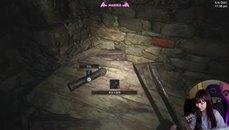 《惡靈古堡8 村莊》恐怖遊戲被魔理花玩成色情遊戲XDDD