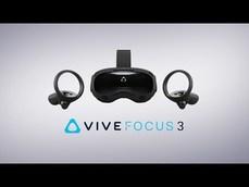 HTC高階商用新一代VR頭戴式顯示器「HTC VIVE Pro 2」與「HTC VIVE Focus 3」,六月在台開賣