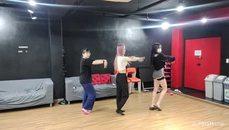 韓國)(台 練舞環節
