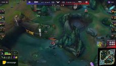 Faker 阿卡莉超神操作 WHAT WAS THAT!!!